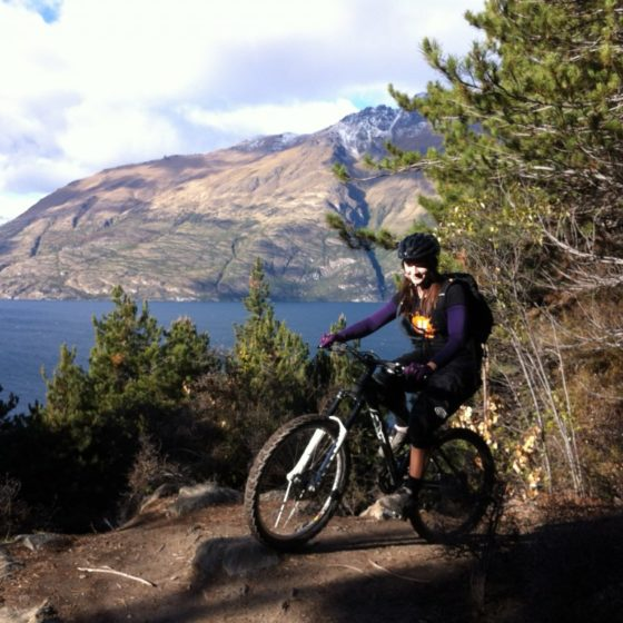 Mountain biking 7 Mile Queenstown cross country trails