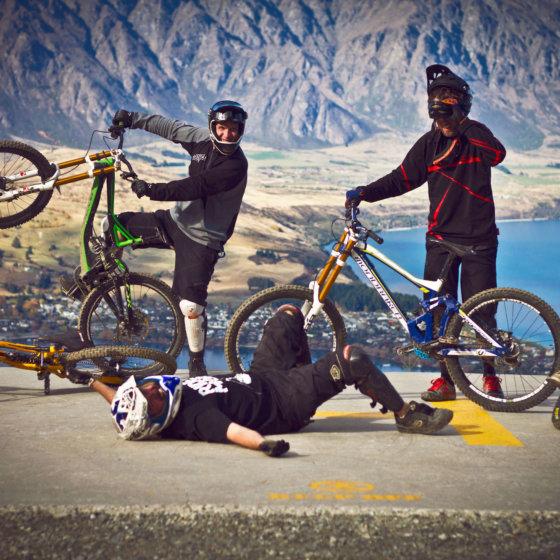 Queenstown Bike Park antics