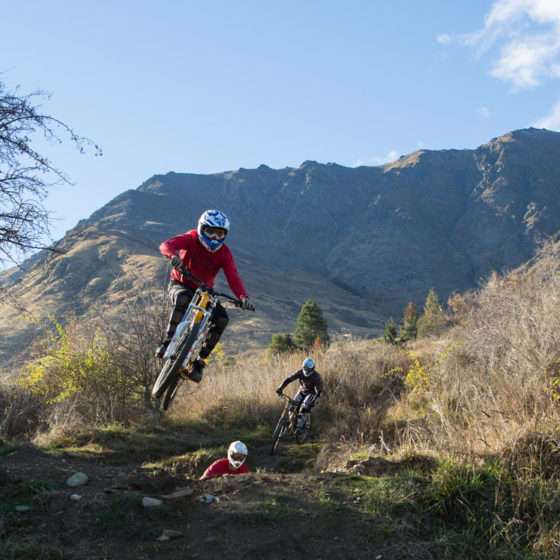Remarkables Downhill shuttles with Queenstown Bike Taxi