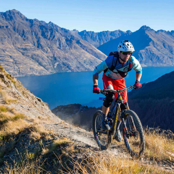 On top of Queenstown, the trail with the epic views