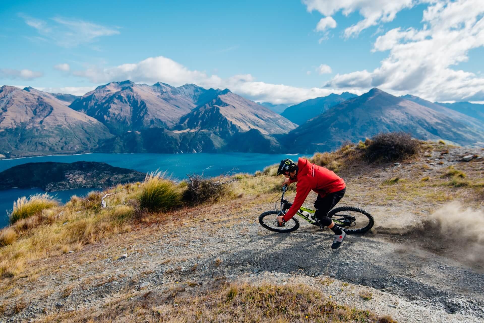 Exploring the Wanaka bike trails