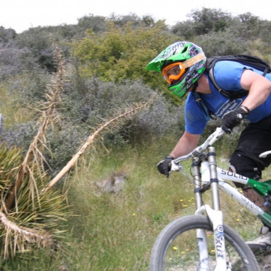 Downhill shuttles with Queenstown Bike Taxis