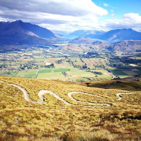 Coronet Peak mtb trail