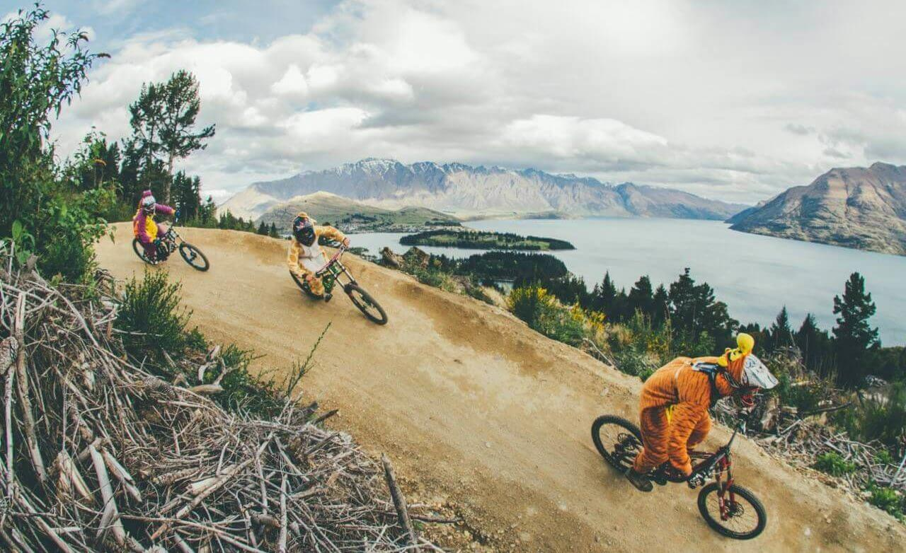 Biking fun at Skyline queenstown