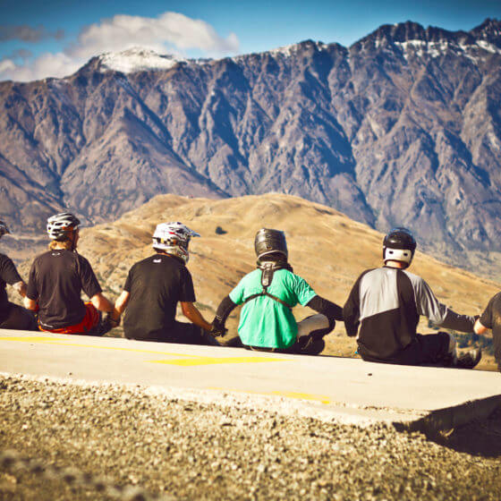 Queenstown mountain biking park Skyline