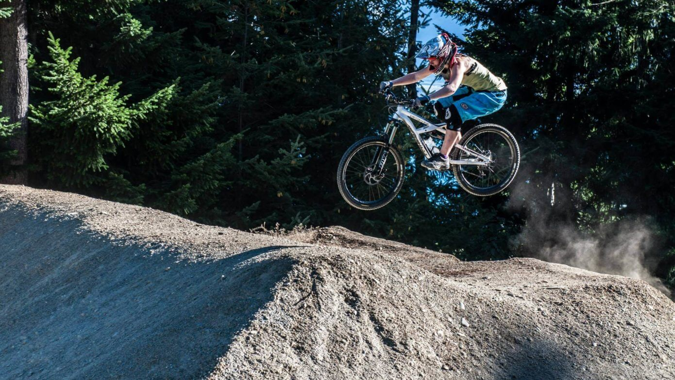 Riding Wynyard Mini Dream Dirt Jumps Queenstown
