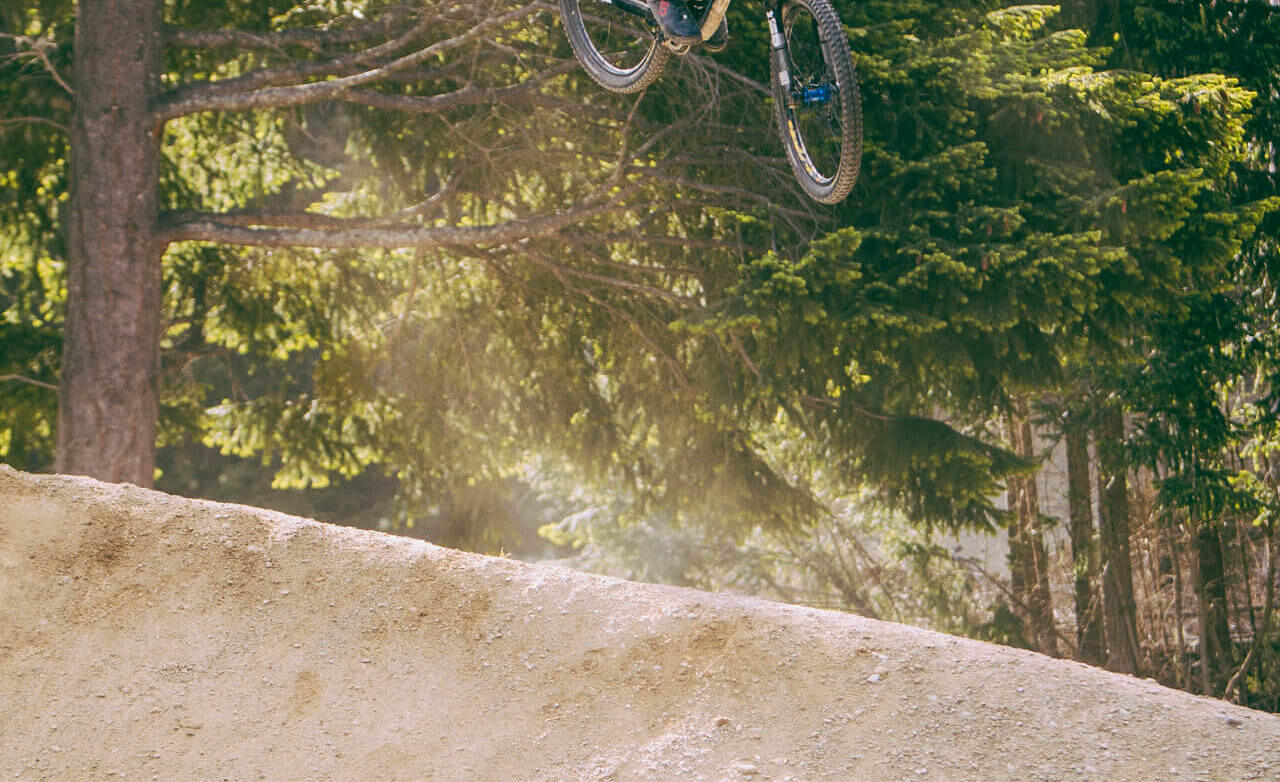 Iconic dirt jumps at Wynyard - Mini Dream Track, Queenstown