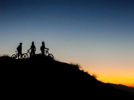 MTB sunset rides near Queenstown